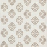 GP and J Baker Kersloe Ivory / Stone BF10768-1 Keswick Embroideries Collection Drapery Fabric