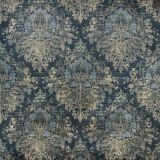 Lee Jofa Alma Velvet Midnight 2019122-515 Harlington Velvets Collection Multipurpose Fabric