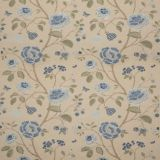 GP and J Baker Lillington Soft Blue BF10763-2 Keswick Embroideries Collection Multipurpose Fabric