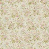 Lee Jofa Garden Roses Lilac / Moss 2007157-103 by Suzanne Rheinstein Multipurpose Fabric