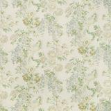 Lee Jofa Montecito Floral Sky / Green 2018139-315 by Suzanne Rheinstein Multipurpose Fabric
