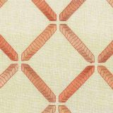 Stout Wooster Coral 3 Rainbow Library Collection Drapery Fabric
