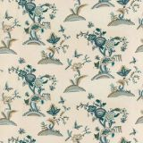 Lee Jofa Cambria Crewel Slate / Teal 2018138-355 by Suzanne Rheinstein Multipurpose Fabric