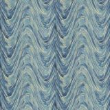 Fabricut Kyrie Waves Ocean 91296-02 Modern Nuances Collection Multipurpose Fabric