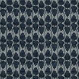 Fabricut Dubai Ikat Indigo 97499 Luxe Nuances Collection Multipurpose Fabric