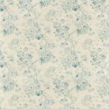 Lee Jofa Garden Roses Aqua / Blue 2007157-153 by Suzanne Rheinstein Multipurpose Fabric