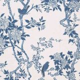 Ralph Lauren Marlowe Floral Porcelain LWP65394W Century Club Textures Collection Wall Covering