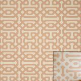 Sunbrella Fretwork Cameo 45991-0003 Upholstery Collection - Reversible Upholstery Fabric (Light Side)