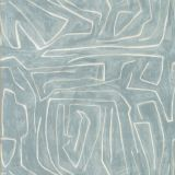 Groundworks Graffito Deep Sky by Kelly Wearstler Multipurpose Fabric