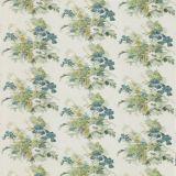 GP and J Baker Bird and Iris Soft Teal BP10774-4 Signature Prints Collection Multipurpose Fabric