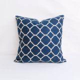 Indoor/Outdoor Sunbrella Accord Indigo - 20x20 Throw Pillow (quick ship)