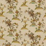 Lee Jofa Cambria Crewel Plum / Moss 2018138-103 by Suzanne Rheinstein Multipurpose Fabric