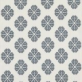 GP and J Baker Kersloe Indigo BF10768-2 Keswick Embroideries Collection Drapery Fabric
