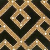 Stout Cued Black / Camel 1 Rainbow Library Collection Multipurpose Fabric