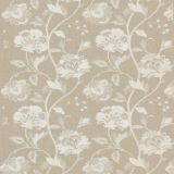 GP and J Baker Ormesby Ivory / Stone BF10762-1 Keswick Embroideries Collection Multipurpose Fabric