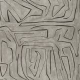 Groundworks Graffito Graphite by Kelly Wearstler Multipurpose Fabric