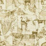 Stout Zimbabwe Mushroom 1 African Expedition Collection Multipurpose Fabric