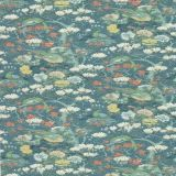 GP and J Baker Rockbird Signature Teal BP10773-1 Signature Prints Collection Multipurpose Fabric