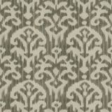 Fabricut Hue Ikat Smoke 97892 Chromatics Collection Multipurpose Fabric
