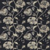 GP and J Baker Ormesby Indigo BF10762-2 Keswick Embroideries Collection Multipurpose Fabric