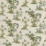 Lee Jofa Cambria Crewel Jade / Olive 2018138-233 by Suzanne Rheinstein Multipurpose Fabric