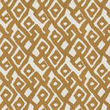 Fabricut Kuba Maze Amber Gold 4278 Multipurpose Fabric