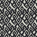 Fabricut Kuba Maze Ink 4278 Multipurpose Fabric
