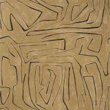 Groundworks Graffito Java by Kelly Wearstler Multipurpose Fabric