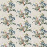 GP and J Baker Bird and Iris Indigo BP10774-2 Signature Prints Collection Multipurpose Fabric
