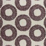 Clarke and Clarke Dashiki Plum F0954-04 Drapery Fabric