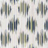 Clarke and Clarke Dilbar Indigo / Chartreuse F0929-02 Multipurpose Fabric