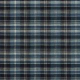 Fabricut Plaid Coir Navy 4465 Natural Tailored Cottage Collection Multipurpose Fabric