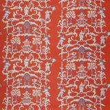Stroheim Folly Persimmon 74970-04 Dana Gibson Vol II Collection Multipurpose Fabric