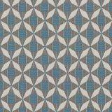 Sunbrella Mosaic Blue MOS J198 136 European Collection Upholstery Fabric