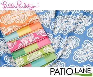 Lilly Pulitzer decor upholstery fabrics